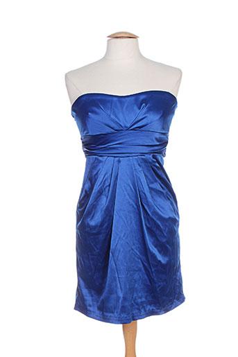 Robe courte bleu BARBARELLA pour femme