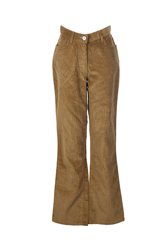 Pantalon casual jaune AIGLE pour femme