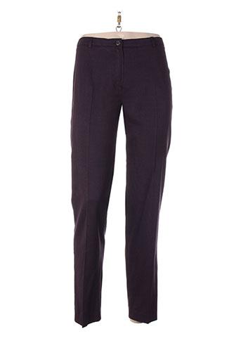 absolu pantalons femme de couleur violet
