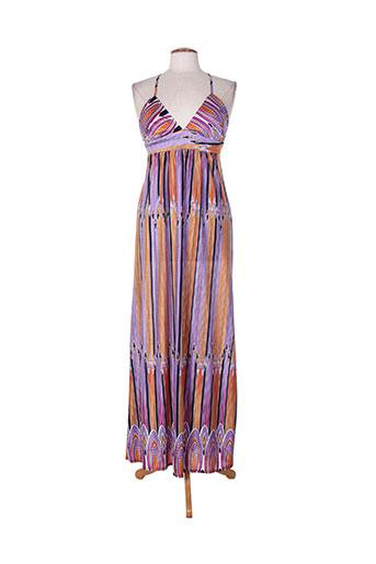 barbarella robes femme de couleur violet