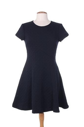 maille demoiselle robes femme de couleur bleu