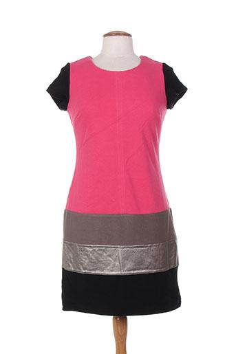 Robe courte rose MISS CAPTAIN pour femme