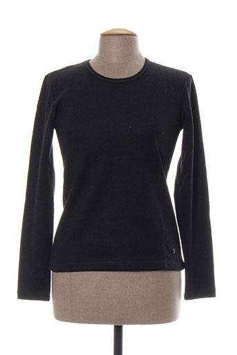 T-shirt manches longues gris BLESSING pour femme