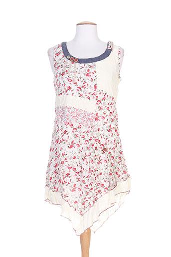 rose bleue robes femme de couleur rose