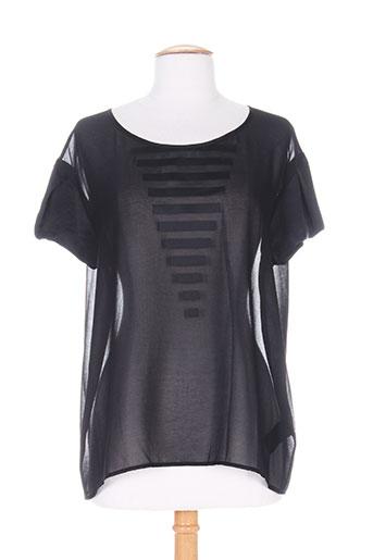 cop copine chemises femme de couleur noir