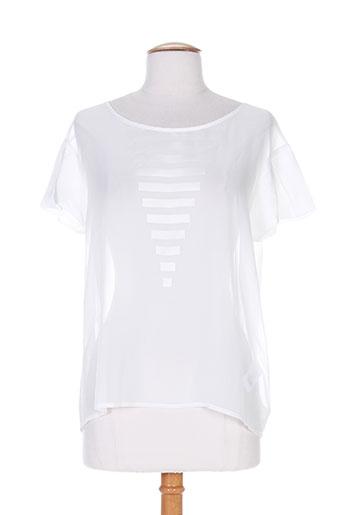 cop copine chemises femme de couleur blanc