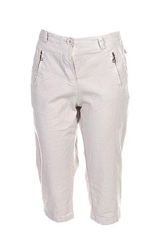 giulia notte shorts / bermudas femme de couleur beige