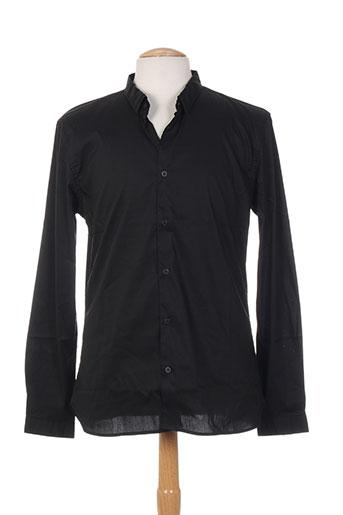 kiliwatch chemises homme de couleur noir