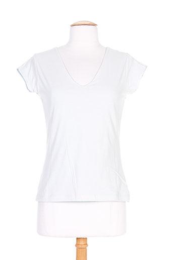 T-shirt manches courtes gris THALASSA pour femme