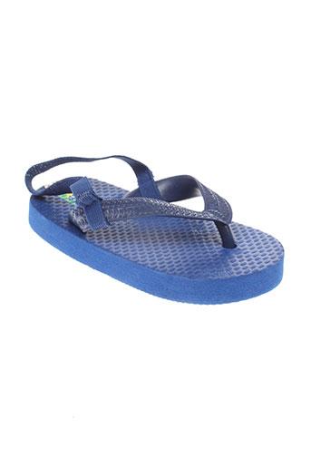 mora mora chaussures garçon de couleur bleu