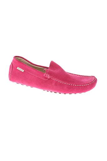 orlando chaussures homme de couleur rose