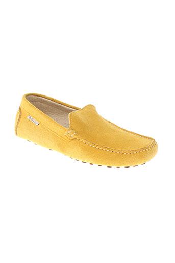 orlando chaussures homme de couleur jaune