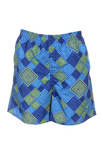 mondaca maillots de bain garçon de couleur bleu