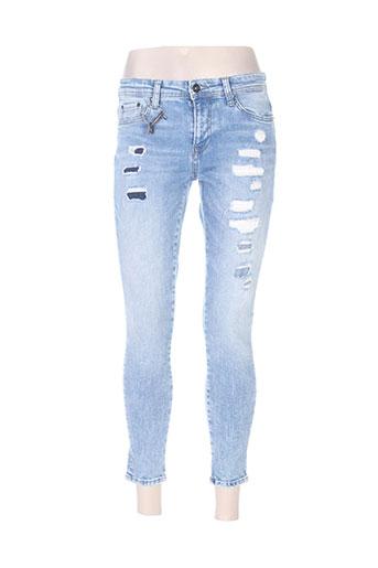 only jeans femme de couleur bleu