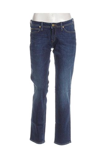 lee cooper jeans femme de couleur bleu