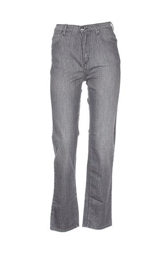 ober jeans femme de couleur gris