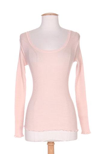 fraly lingerie femme de couleur rose