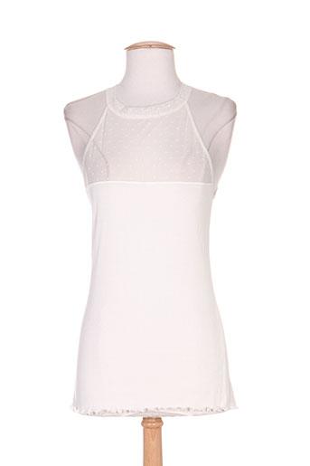 fraly lingerie femme de couleur blanc