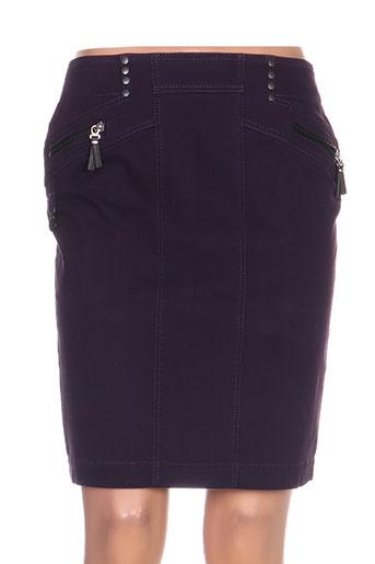 quattro jupes femme de couleur violet
