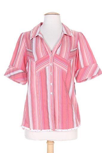 quattro chemises femme de couleur rouge