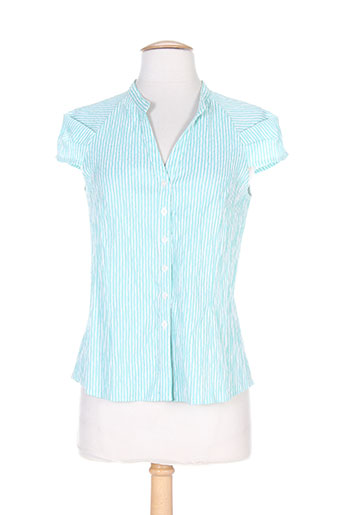 quattro chemises femme de couleur bleu