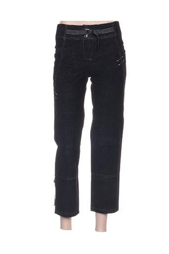 quattro pantacourts femme de couleur noir