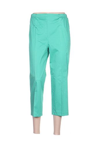 quattro pantacourts femme de couleur vert
