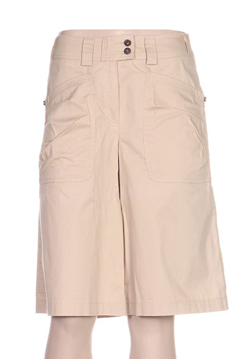 quattro shorts / bermudas femme de couleur beige