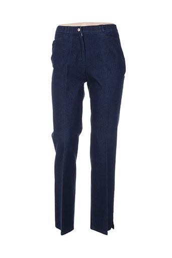 quattro jeans femme de couleur bleu