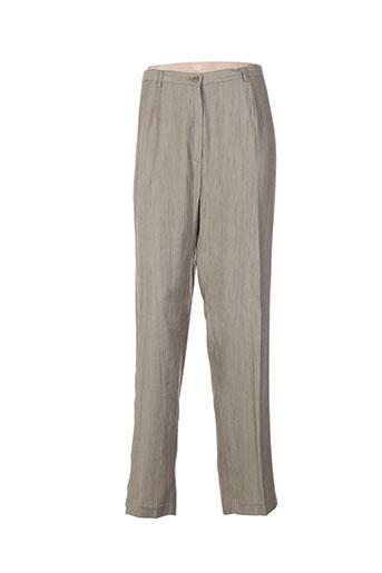 quattro pantalons femme de couleur vert