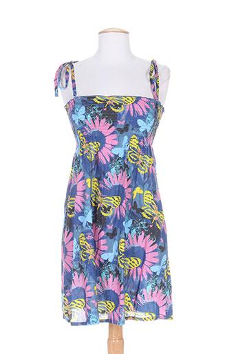 cherry beach robes femme de couleur bleu