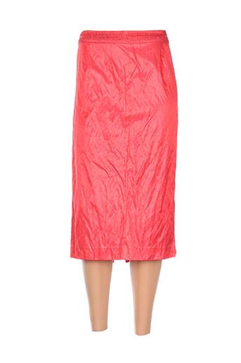 Jupe mi-longue rouge ADOLFO DOMINGUEZ pour femme