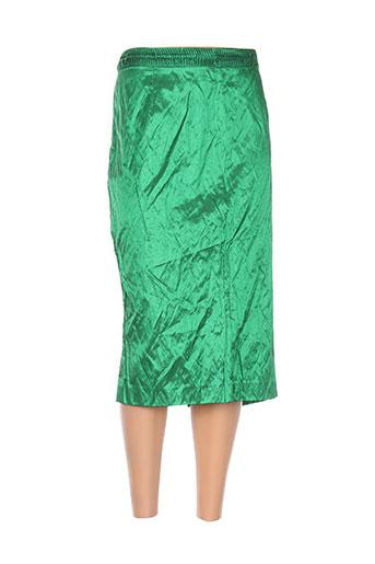 Jupe mi-longue vert ADOLFO DOMINGUEZ pour femme