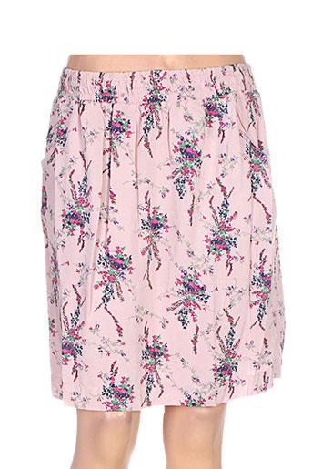 Jupe courte rose ESPRIT pour femme