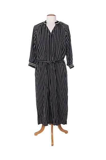 Robe longue noir EMA BLUE'S pour femme