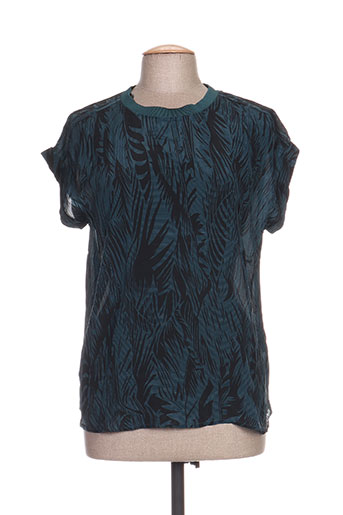 b.young chemises femme de couleur bleu