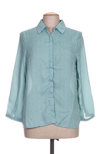 la p'tite etoile chemises femme de couleur bleu