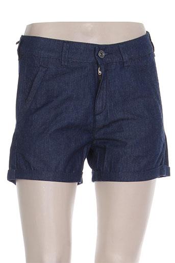 couturist shorts / bermudas femme de couleur bleu