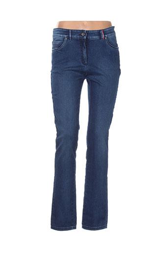 couturist jeans femme de couleur bleu