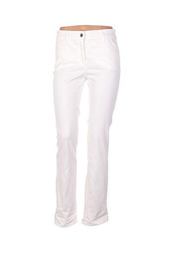 couturist pantalons femme de couleur beige