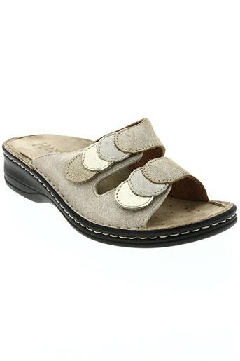 benexa chaussures femme de couleur beige