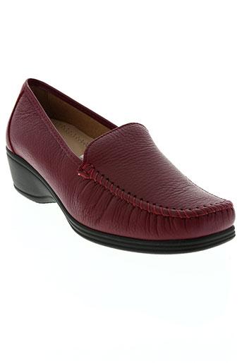 benexa chaussures femme de couleur rouge