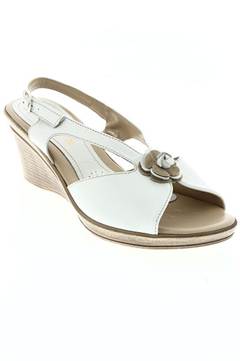 lucy style chaussures femme de couleur blanc