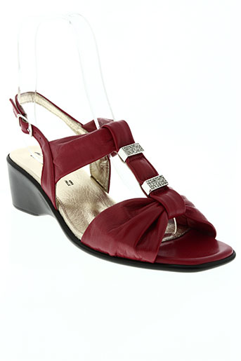 lucy style chaussures femme de couleur rouge