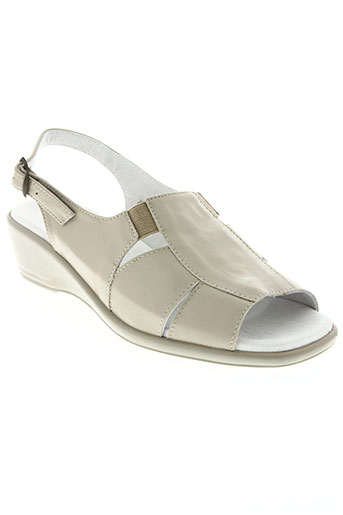 lucy style chaussures femme de couleur beige
