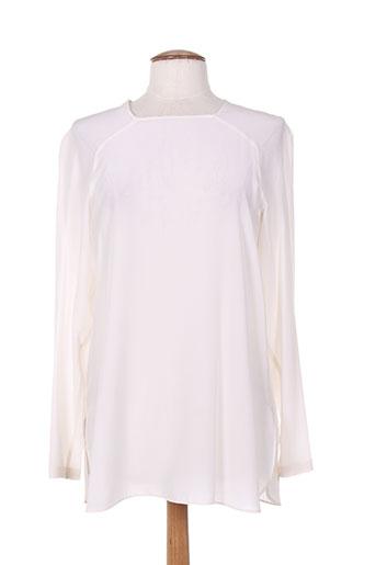 sportmax chemises femme de couleur blanc