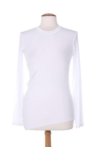 sportmax t-shirts femme de couleur blanc