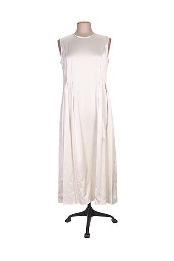 maxmara robes femme de couleur gris
