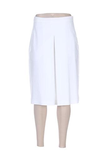 maxmara jupes femme de couleur blanc