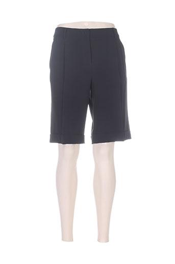 maxmara shorts / bermudas femme de couleur noir